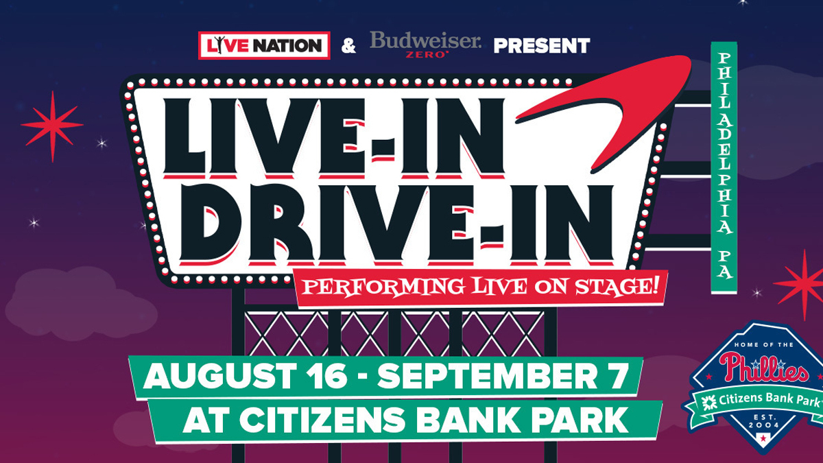 Citizens Bank Park to Play Host to Drive-In Concert Series
