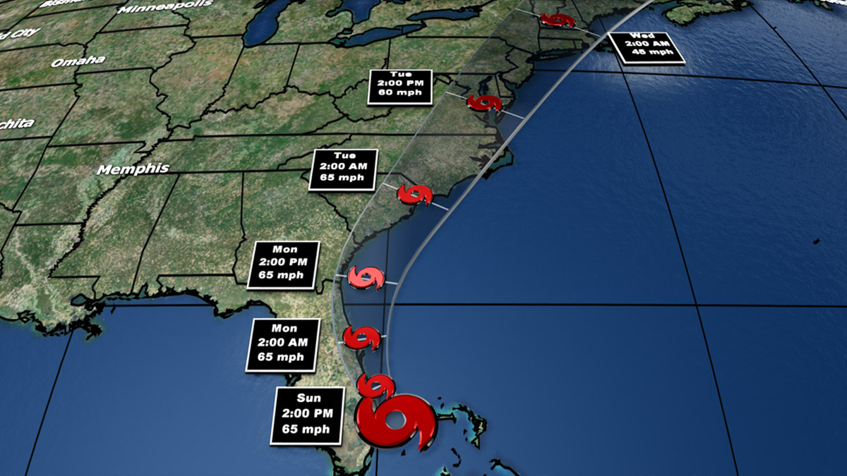 Isaias Nears Virus-Hit Florida After Lashing the Bahamas