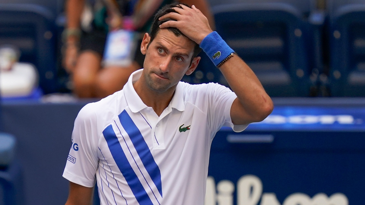 Djokovic Out Of Us Open After Hitting Line Judge With Ball Nbc10 Philadelphia