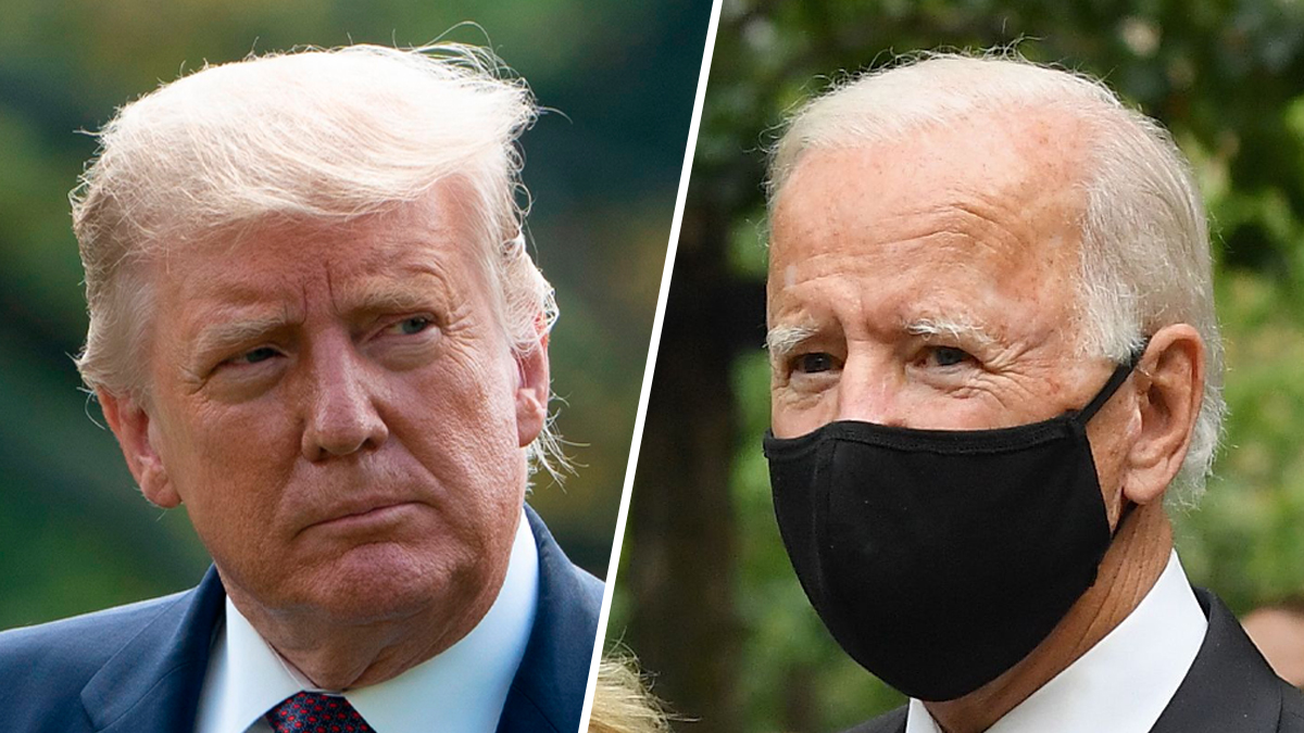 Trump's Wrongs on Court, Virus; Biden Errs – NBC10 Philadelphia