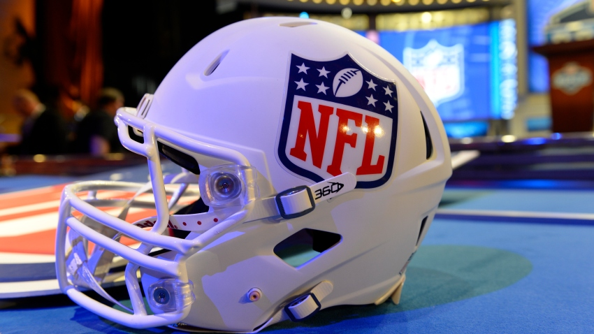 May 8, 2014: Final preparations are made prior to the start of the first round of the NFL Draft at Radio City Music Hall in Manhattan, NY. (