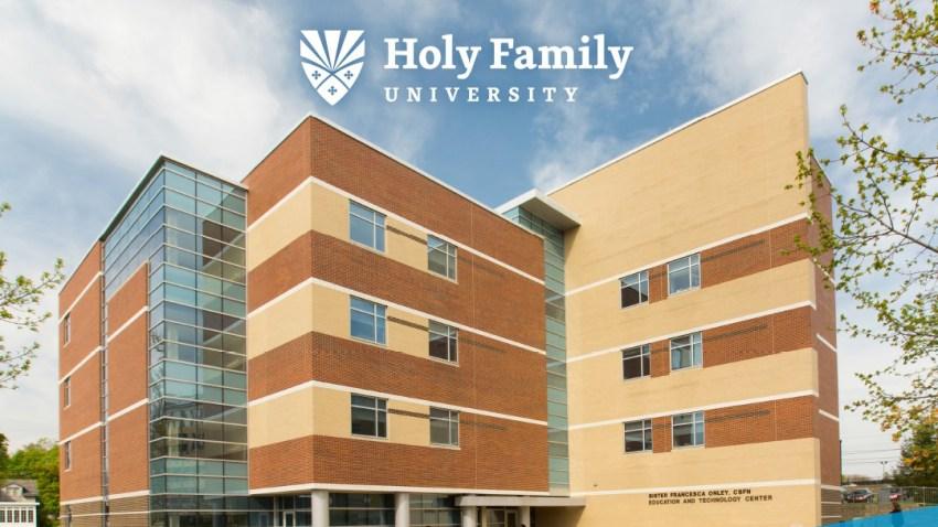 A building at Holy Family University Northeast Philadelphia.