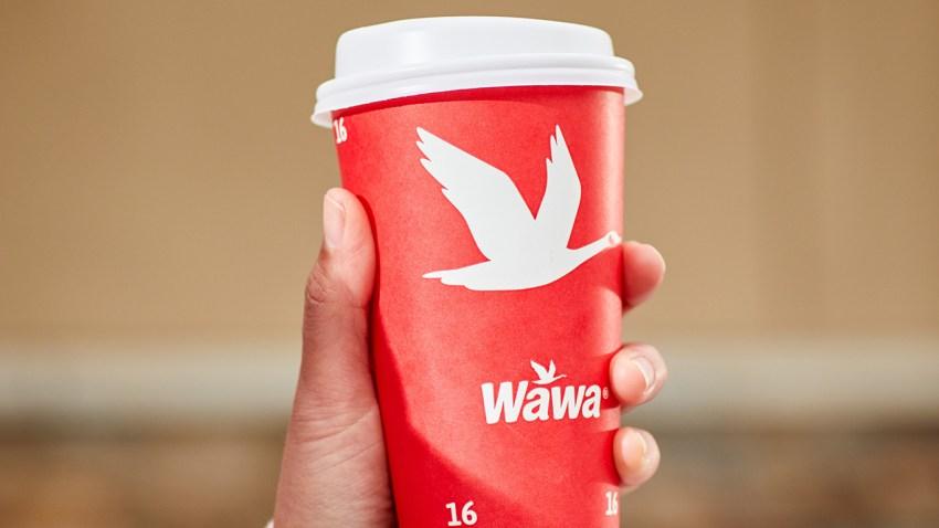 Wawa coffee cup