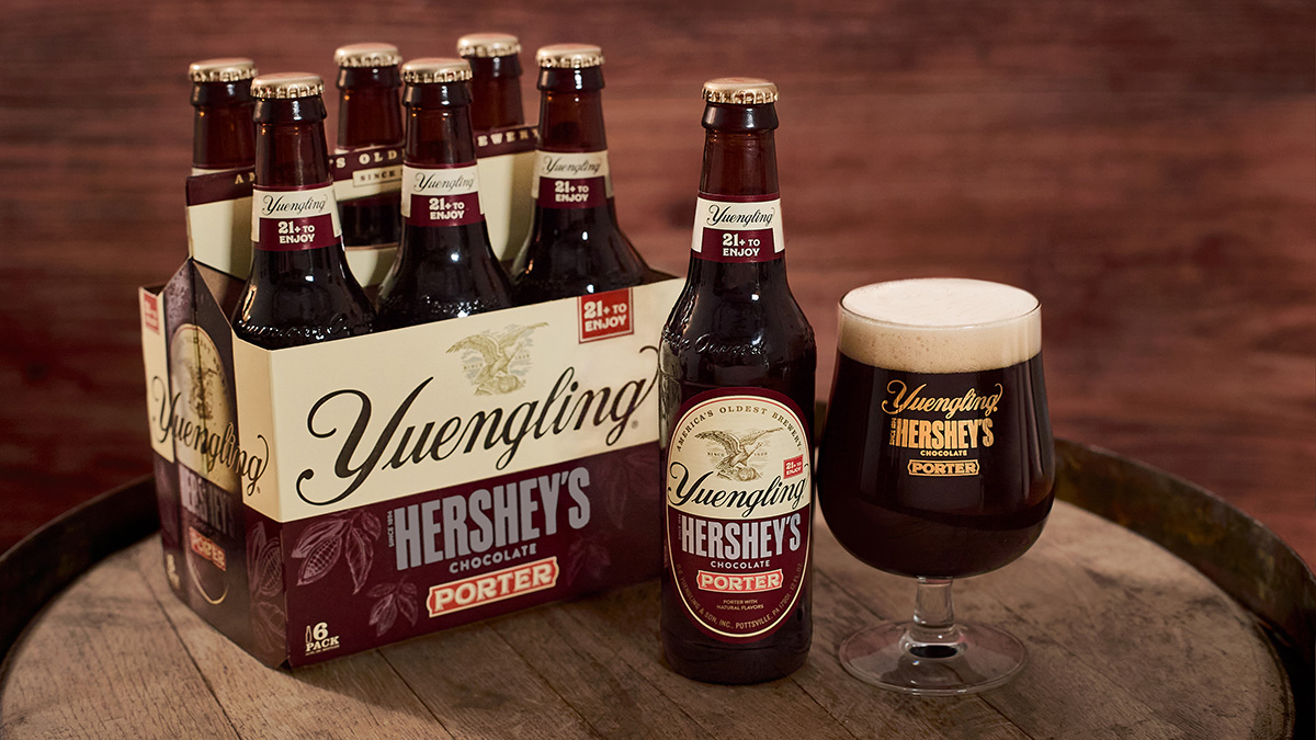 Yuengling and Hershey's Team Up for Chocolate Beer, Again