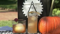 Teaching Cocktail Making in a Philly Garden