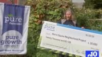 Grant Brings 'Pure Growth' to North Philadelphia Neighborhood Garden