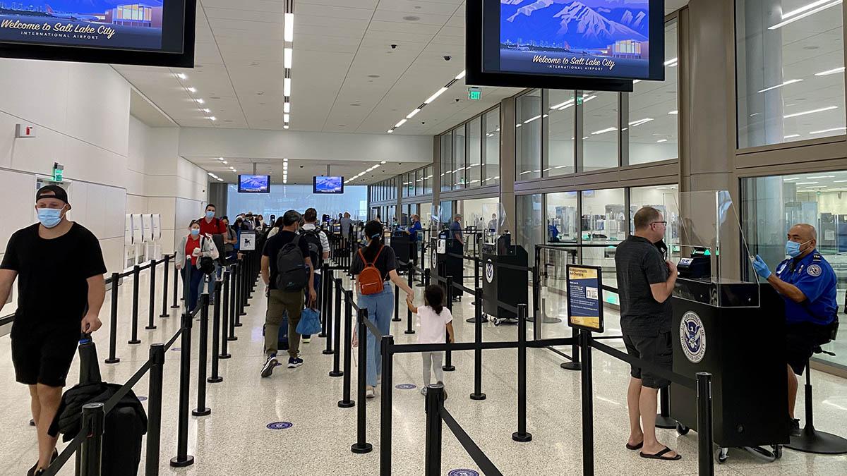 Pandemic Air Travel Milestone; 1 Million Passengers Screened