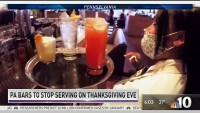 Bar Owners Upset Over 1 Night Alcohol Sales Ban on Thanksgiving Eve