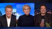 'Tonight': Mika Brzezinski Helped Joe Scarborough Announce Joe Biden's Win