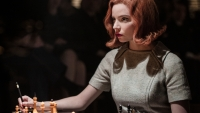 Checkmate! 'The Queen's Gambit' Sets a New Record at Netflix