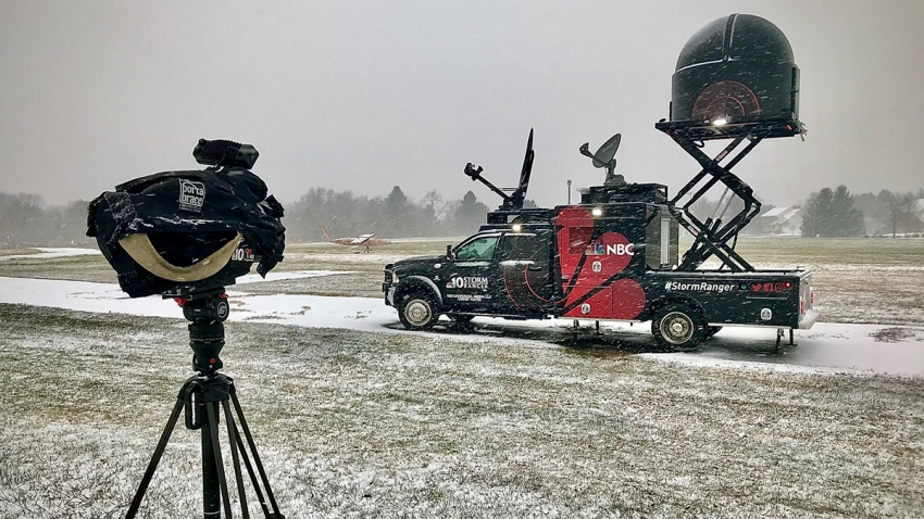 StormRanger truck in snow