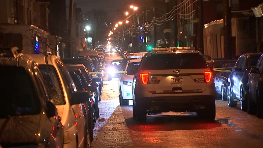 Police investigate a deadly shooting along Emerald Street in Philadelphia