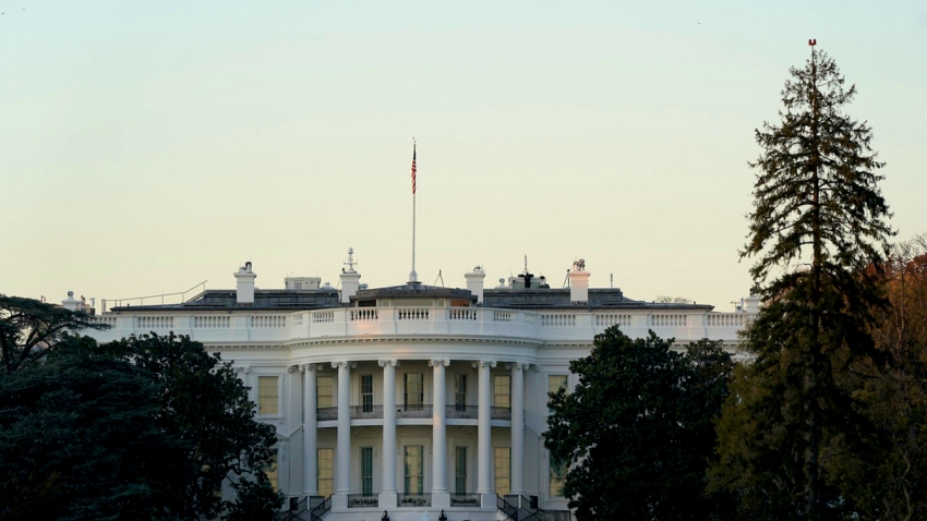 The White House is seen on November 8, 2020 in Washington, DC.