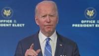 President-Elect Biden Puts Focus on Coronavirus Relief, Vaccine in Spending Plan