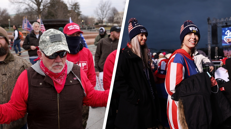 Photos: DC Braces for Conflict as Trump Supporters Descend on the Capitol