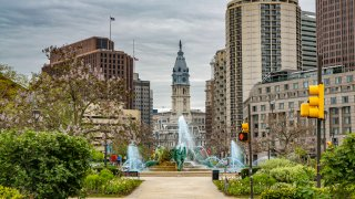 City Hall of Philadelphia in Pennsylvania.
