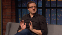 'Late Night': Chris Hayes Explains Trump's Silence Surrounding COVID