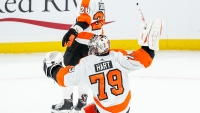 Frustrations Aplenty as Carter Hart, Flyers Are Bombarded by Bruins