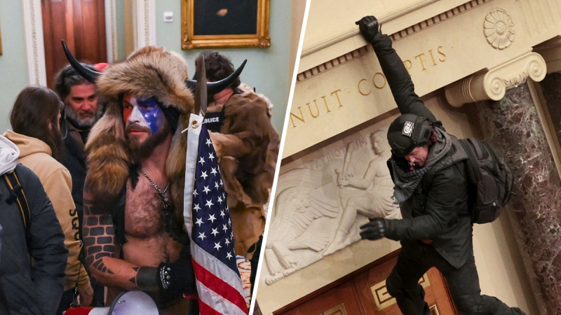 Photos: Pro-Trump Supporters Breach the Capitol Building