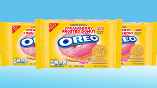 Strawberry Frosted Donut Oreos