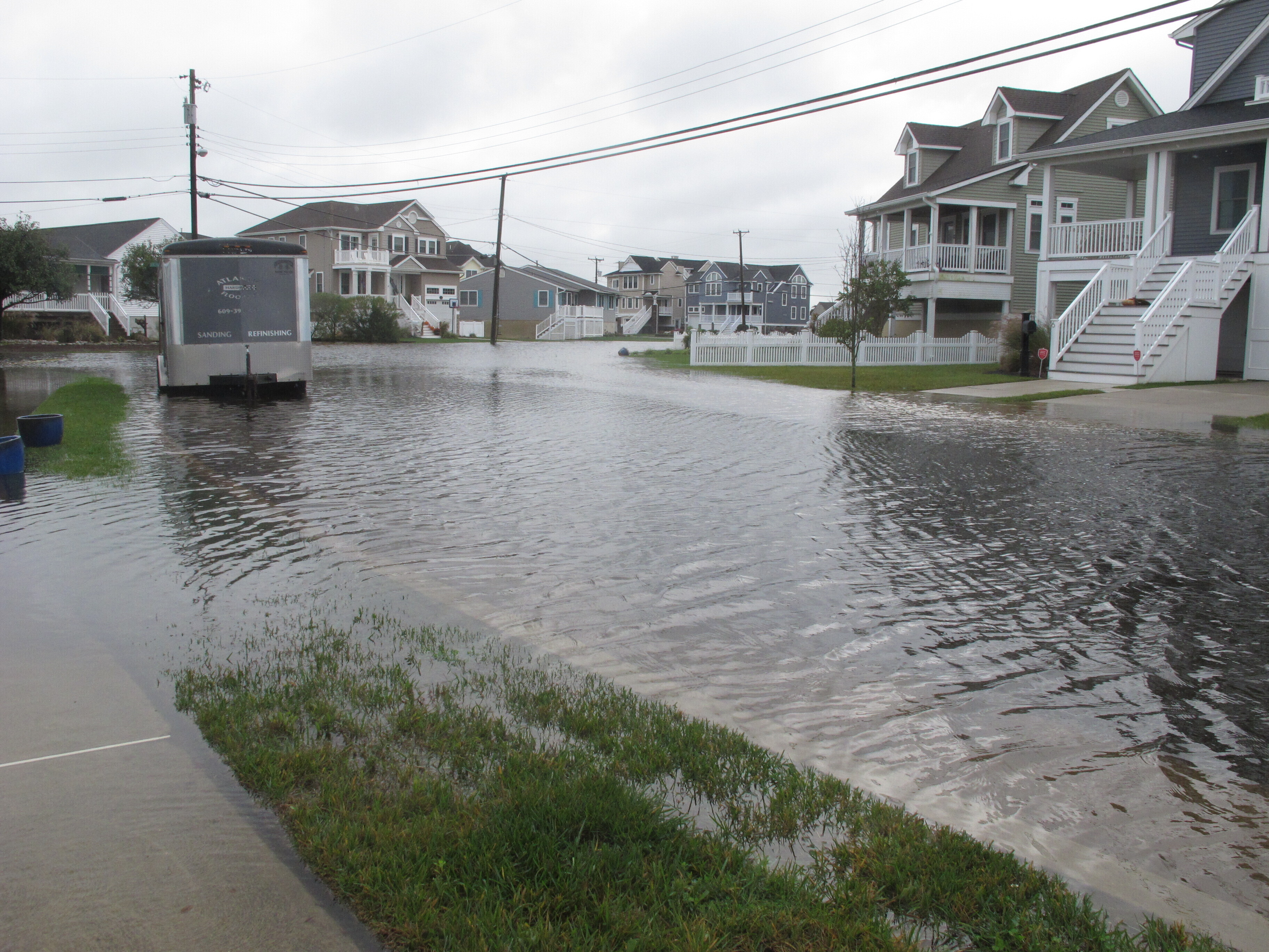 Amid Rising Seas, 'Dry' Jersey Shore Resort Is Wetter Than It Likes