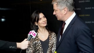 Hilaria Baldwin and Alec Baldwin attend the Guild Hall Academy Of The Arts Achievement Awards 2020 at the Rainbow Room on March 03, 2020 in New York City.