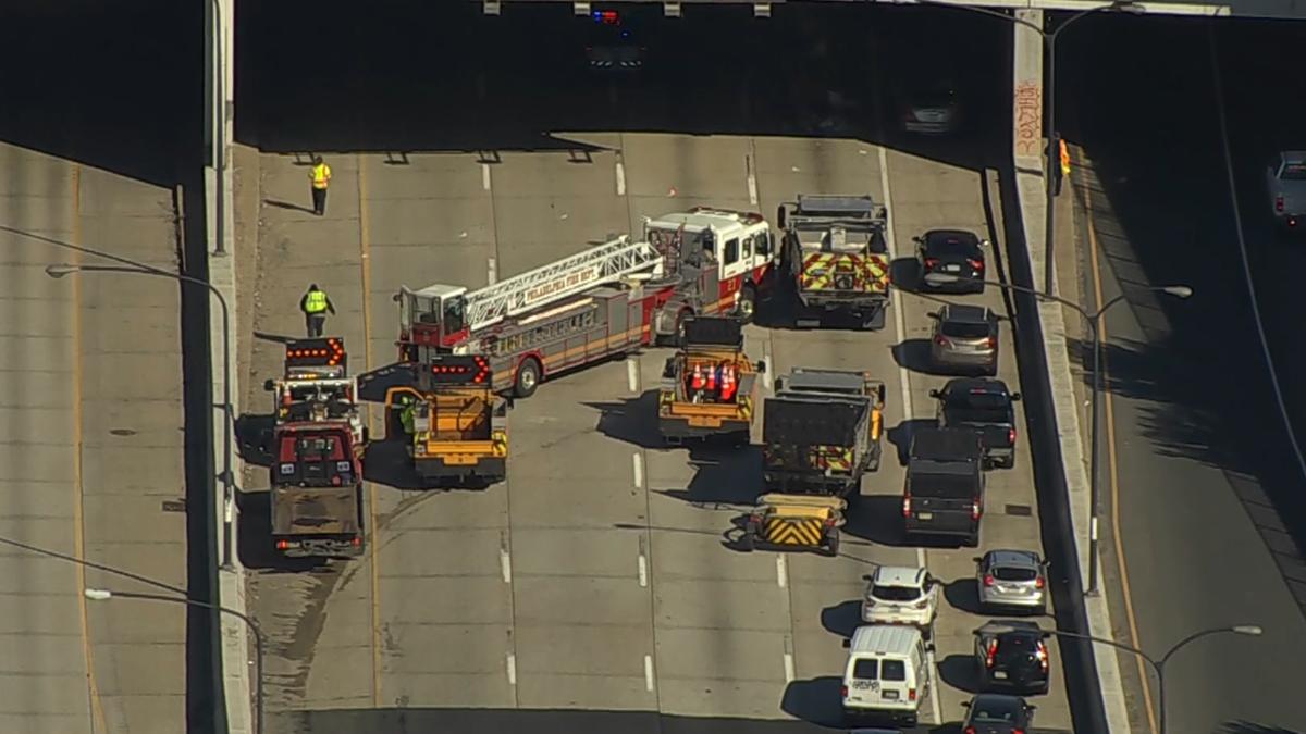 Crash on Interstate 95 Snarls Traffic in Center City