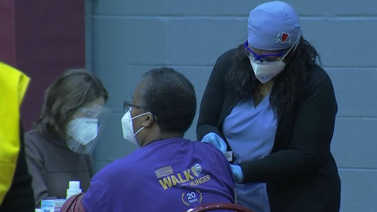 Philadelphia Opens Third Standing Mass Vaccination Clinic