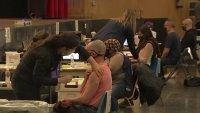 Philadelphia Teachers Line Up for Their Coronavirus Vaccine