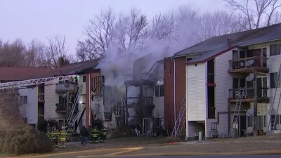 Apartment Fire Displaces Dozens in Delaware