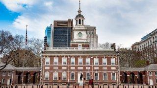 Independence Hall in Philadelphia, Pennsylvania