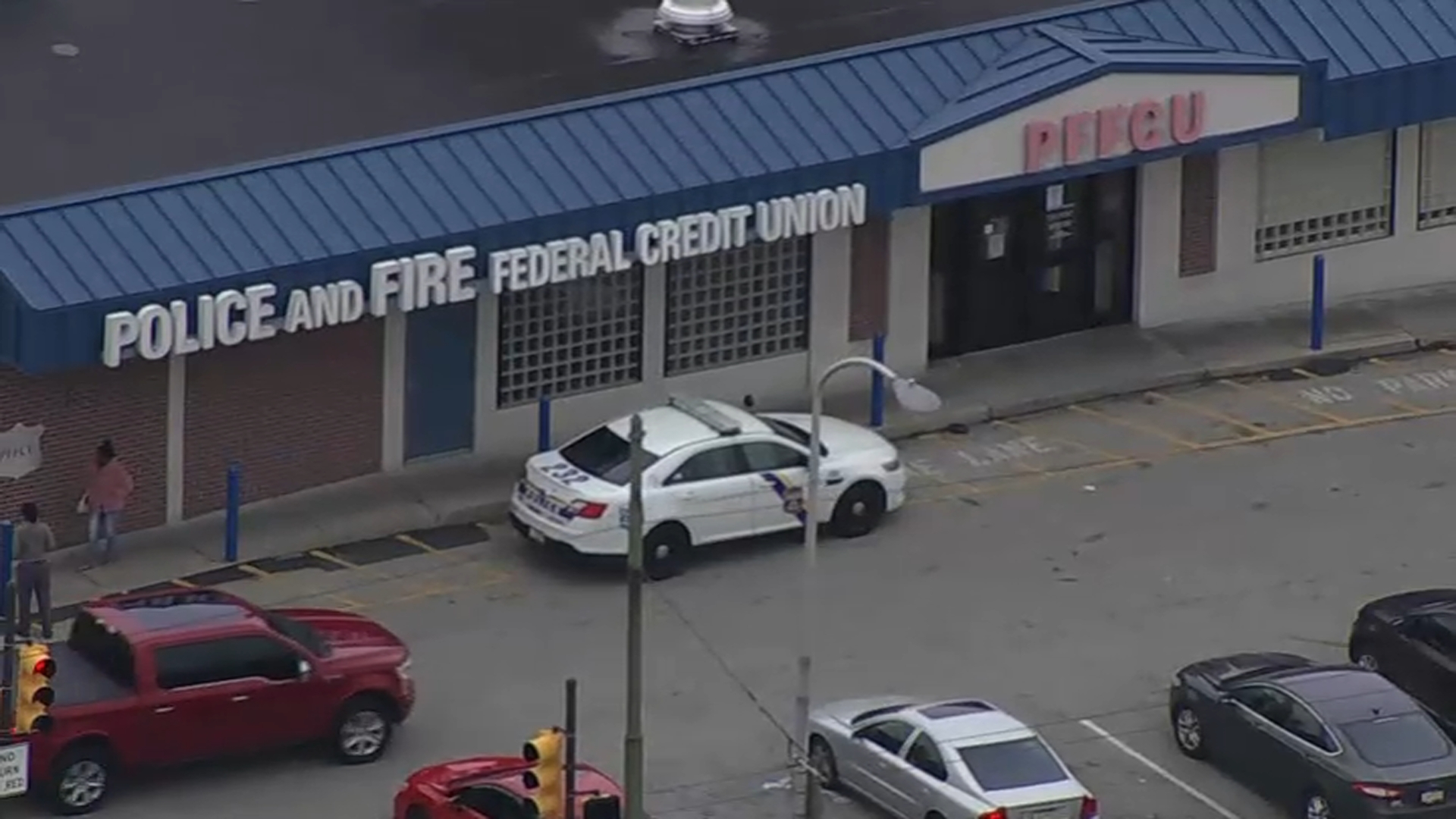 Philly Officer, Detective Injured During Incident Inside Police and Fire Federal Credit Union