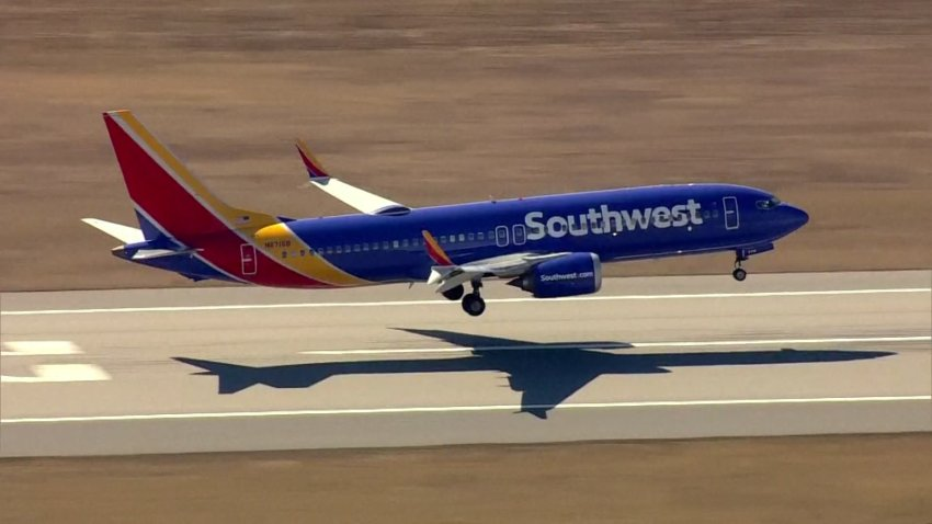 File photo of a Southwest Airlines Boeing 737 MAX aircraft.