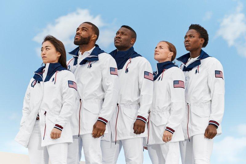 Ralph Lauren Unveils 2020 Tokyo Olympics Uniforms