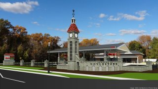 A rendering of a new Wawa in Doylestown developed by Provco Group.