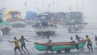 Powerful Cyclone Hits Land in India Amid Deadly Virus Surge