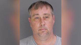A police mug shot of Gary Hutt