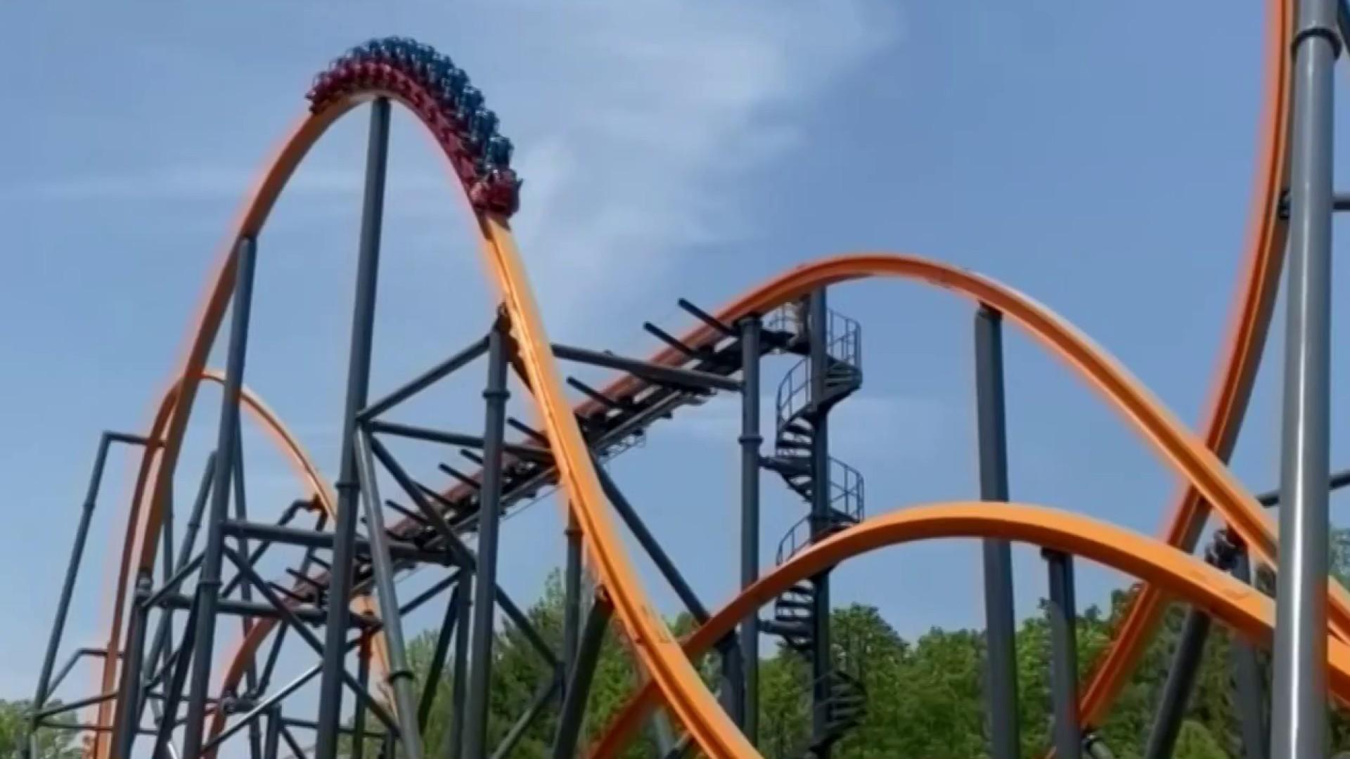 Jersey Devil Coaster Opens At Six Flags Great Adventure Nbc10 Philadelphia