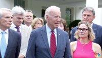 'We Have a Deal': Biden Announces Infrastructure Agreement