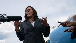 US Vice President Kamala Harris Atlanta