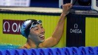 18-Year-Old Virginia Swimmer Torri Huske Breaks US Olympic Record in 100m Butterfly