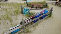 Jersey Shore Beachgoers Illegally Store Chairs on Dunes, Officials Say