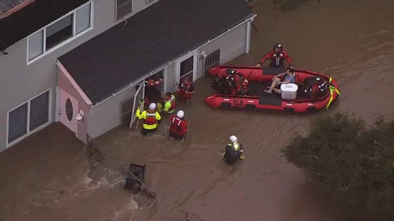 Storms Lead to Widespread Flooding in Bucks County, Northeast Philly and South Jersey
