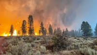 Western Wildfires Still Growing, But Better Weather Helps Crews Make Progress