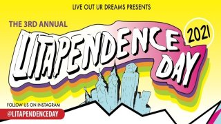 Litapendence Day Event Graphic