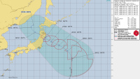 Tropical Storm Nepartak Heads Toward Japan, Possibly Impacting Olympic Events