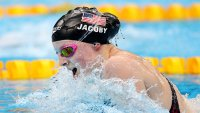 Lydia Jacoby Wins Gold Wearing Pink Swim Goggles She Got as a Kid From 2012 Olympian
