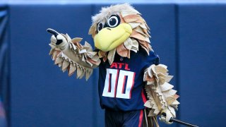 Falcons Mascot Freddie