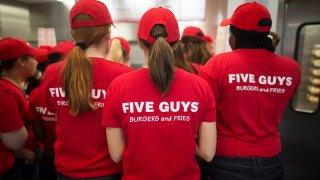 Five Guys Burger Chain