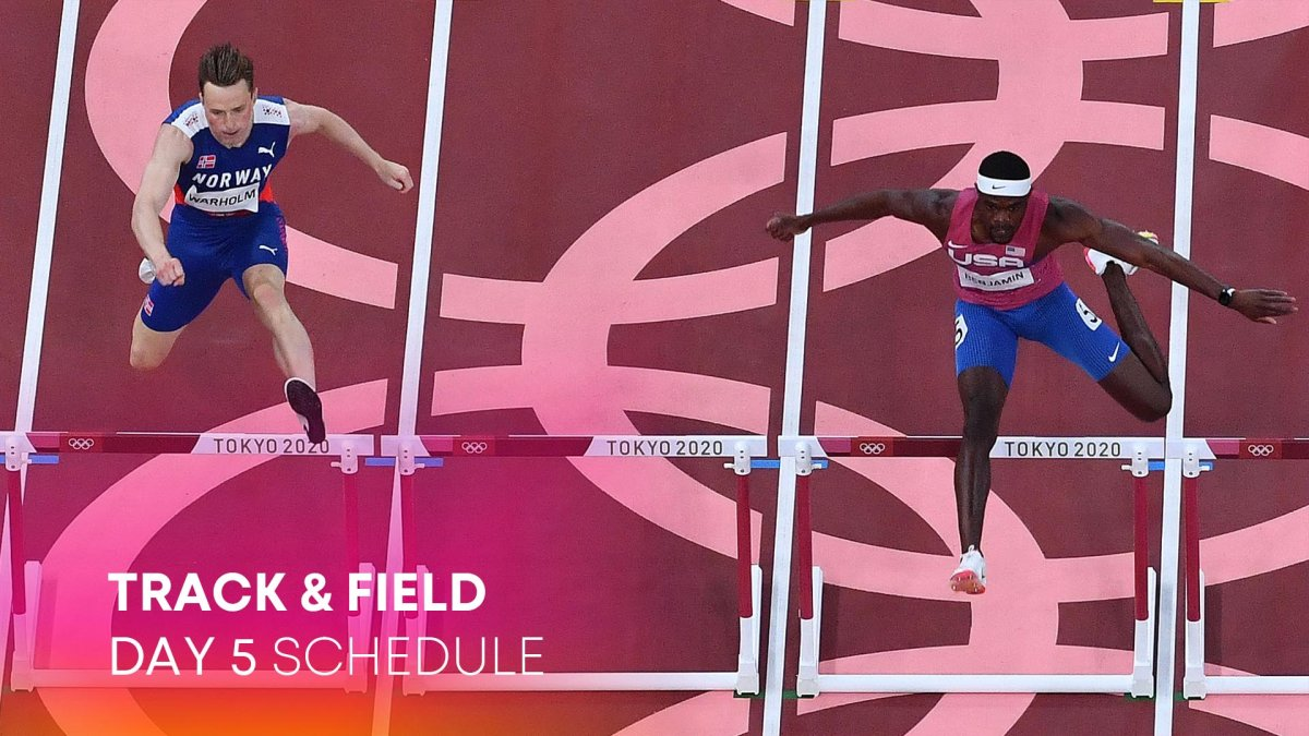 Track & Field Day 5: Warholm Bests Benjamin, Own World Record for Gold - NBC 10 Philadelphia